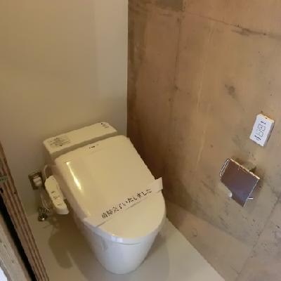 清潔感のある、綺麗なトイレ