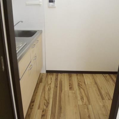 キッチンの広さはこのくらい