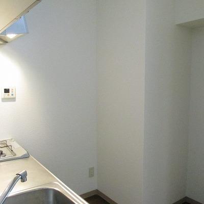 冷蔵庫のスペースもばっちり!
