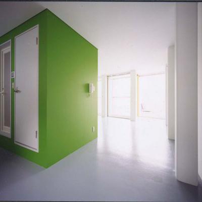 すっきりとシンプルな空間です。※写真は別部屋です。
