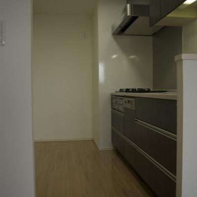 キッチンスペースもゆったり