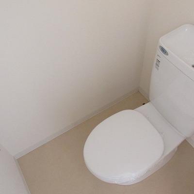 トイレもキレイ。