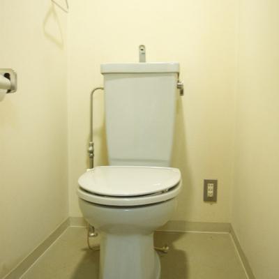 トイレもすこし古いね※写真別部屋