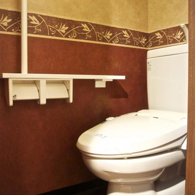 トイレにはゴージャス感あり