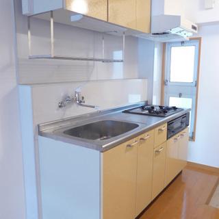 キッチンも広く、使い勝手が良さそう!