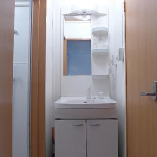 洗面台もちゃんとしています!