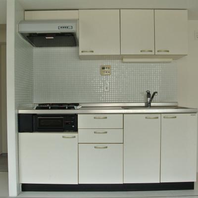 キッチン2口ガス※画像は別部屋