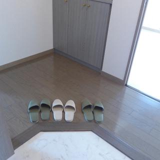 玄関まわりもgood!素敵なお部屋の入り口です♪
