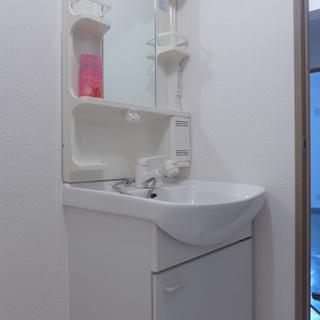 洗面台も使い勝手が良さそう!