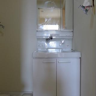 洗面台は普通です。 ※写真は前回募集時のものです。