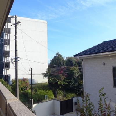 眺望もgood。閑静な住宅街です。