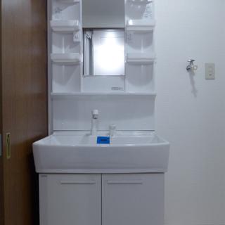 洗面台も大きめで使い勝手good!