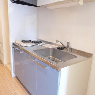 キッチン!2口ガスコンロなのでお料理される方もオススメ※写真は別部屋になります。