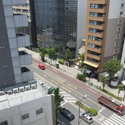 土佐堀通りが眺められます!