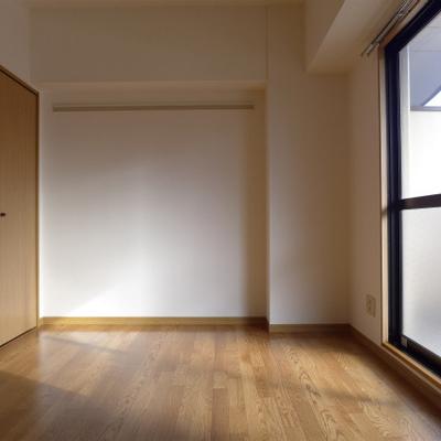 洋室は6畳。丁度良い。