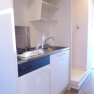 キッチンは1口ガスコンロです。