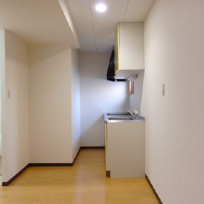 キッチンもゆったりとした作り