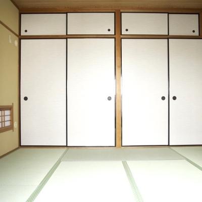 和室もキレイになっていました