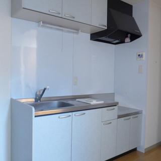 キッチン!コンロはご自身で設置を。※写真は別部屋になります。