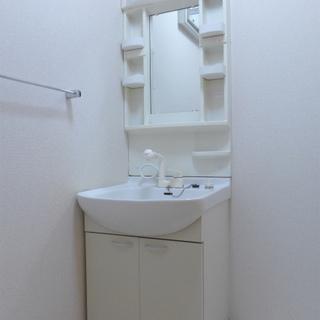 洗面台もgood。※写真は別部屋になります。