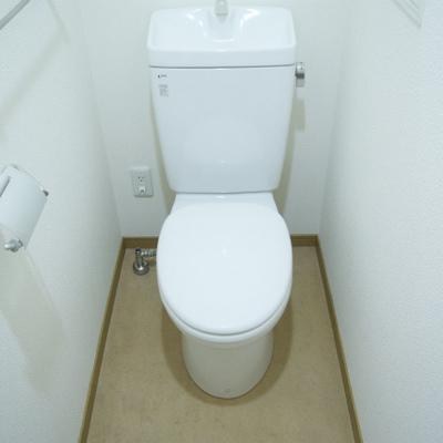 トイレも簡素