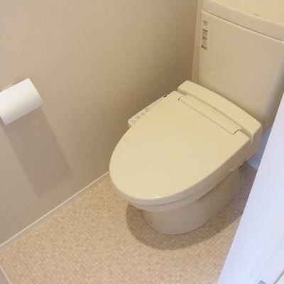 トイレもウォシュレット付き