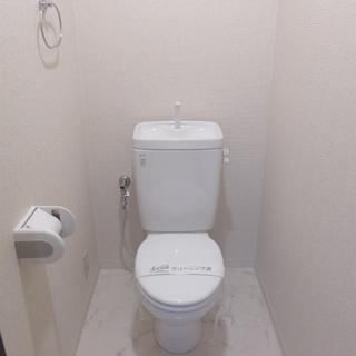 トイレにウォシュレットはありません。