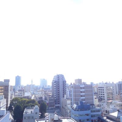 眺望も最高です。さすが8階!