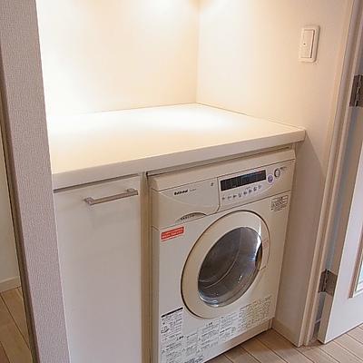 洗濯乾燥機付