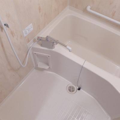 お風呂もほっこり。