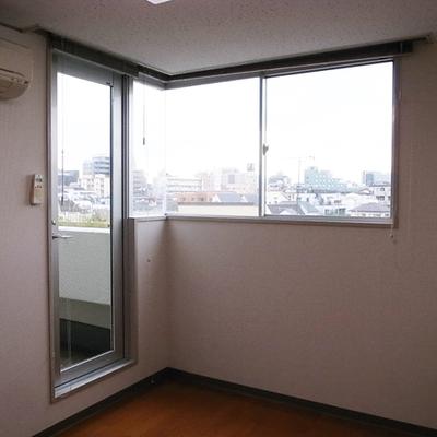 日当たりもgood(写真は3階のお部屋です)