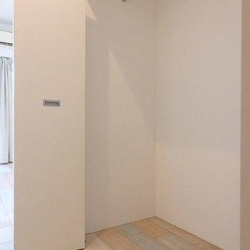 収納は幅があってなかなかの大容量です◎ ※写真は同間取り306号室のもの