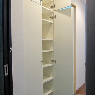 下駄箱も大容量※写真は1階の似た間取りの別部屋です
