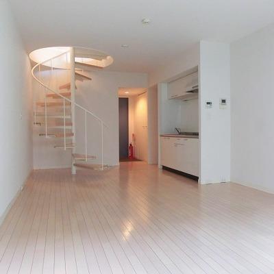 螺旋階段が可愛らしい、広々空間※写真は前回募集時のものです