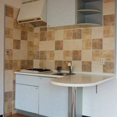 キッチンがかわいい