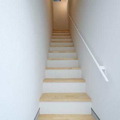 内階段です。