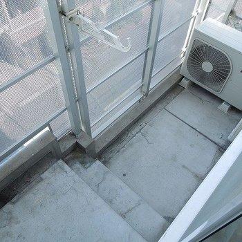 階段状のベランダ※写真は前回募集時のものです