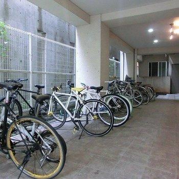 自転車があると楽しいエリアですよね!