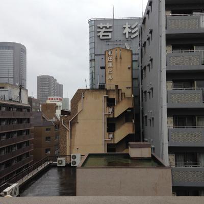 7階からの眺望。