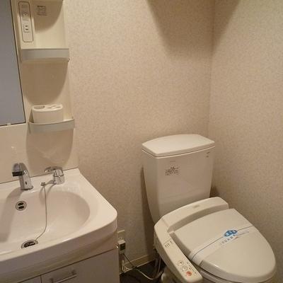 トイレと洗面が混在