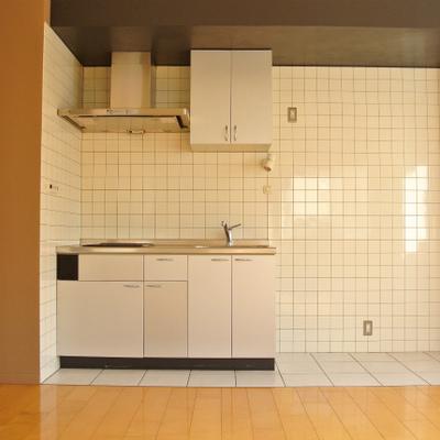 キッチンのタイルが良いですね