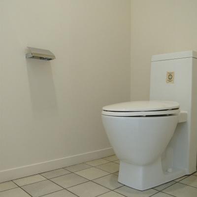 トイレの床がいいね
