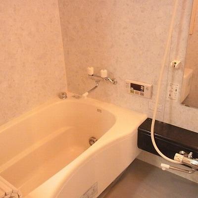 充実の浴室