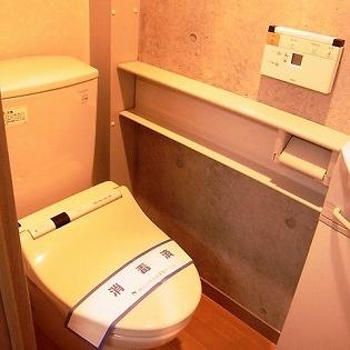 ウォシュレット付きトイレ。※写真は前回募集時のものです