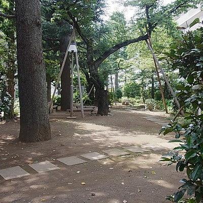 共有スペースの公園