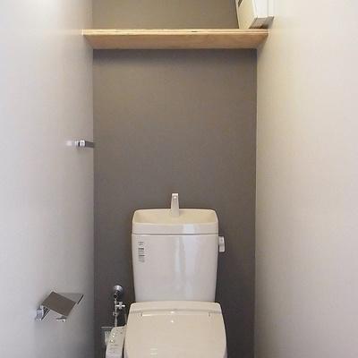 トイレも綺麗に※写真は前回掲載時のものです。