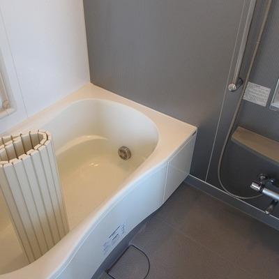 広めのお風呂と浴槽!追い焚き・浴室乾燥機能も完備。