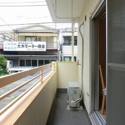 1階角部屋です。