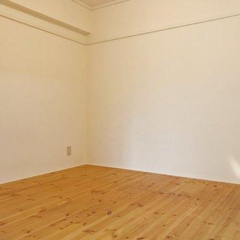 寝室にちょうどいい広さですね