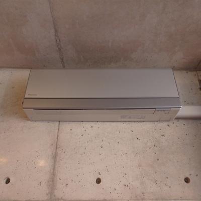 エアコンもこのお部屋に馴染むものが採用されています。